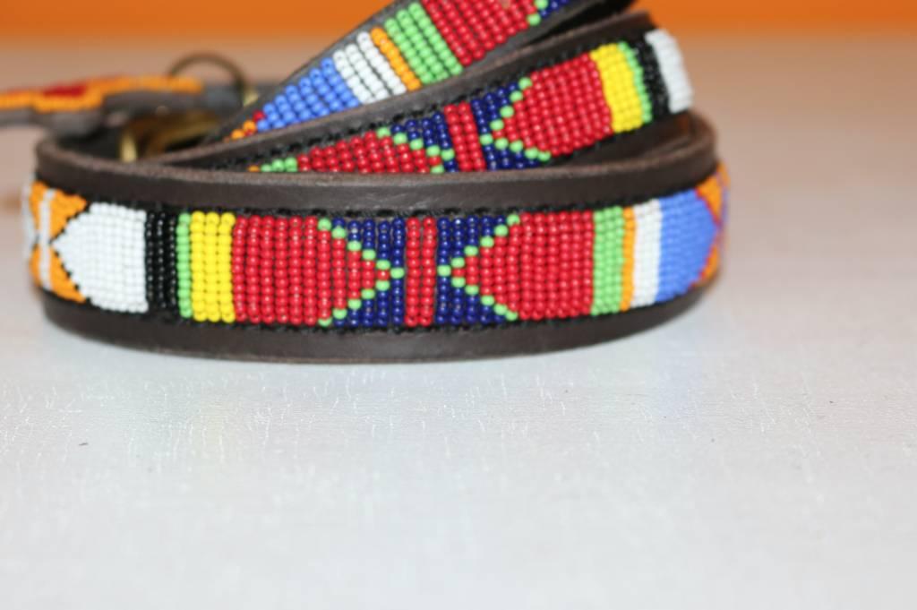 HANDMADE IN KENYA MALAWI DOG COLLAR