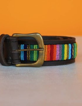 HANDMADE IN KENYA TOGO BELT