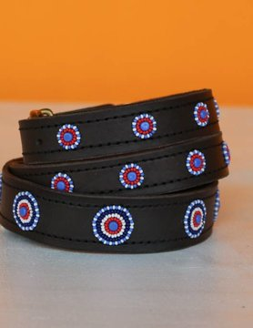 HANDMADE IN KENYA ANGOLA DOG COLLAR