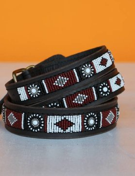 HANDMADE IN KENYA ZAMBIA DOG COLLAR
