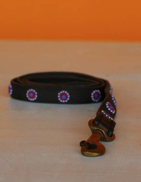 HANDMADE IN KENYA ANGOLA LEASH