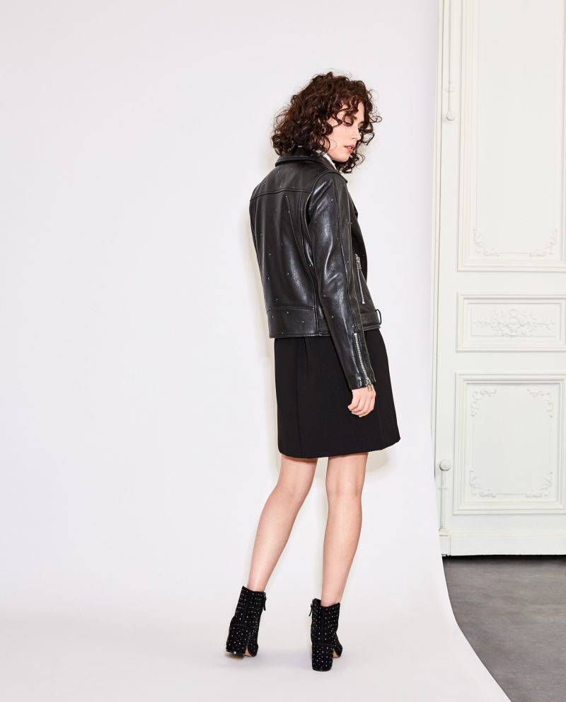 SUNCOO PARIS LEATHER JACKET FROM SUNCOO PARIS