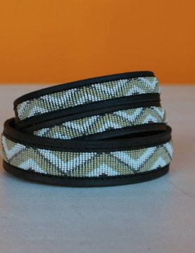 HANDMADE IN KENYA DJIBOUTI DOG COLLAR