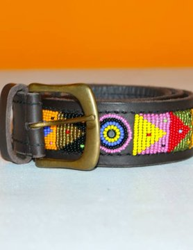 HANDMADE IN KENYA MADAGASKAR BELT