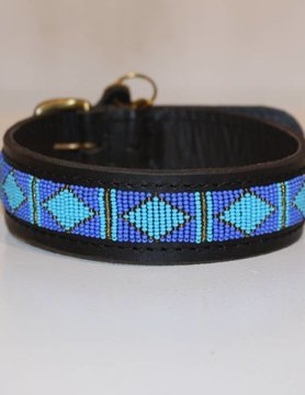 HANDMADE IN KENYA CEUTA DOG COLLAR
