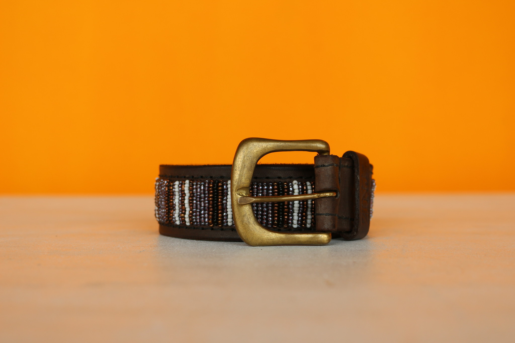 HANDMADE IN KENYA BLACK NILE BELT