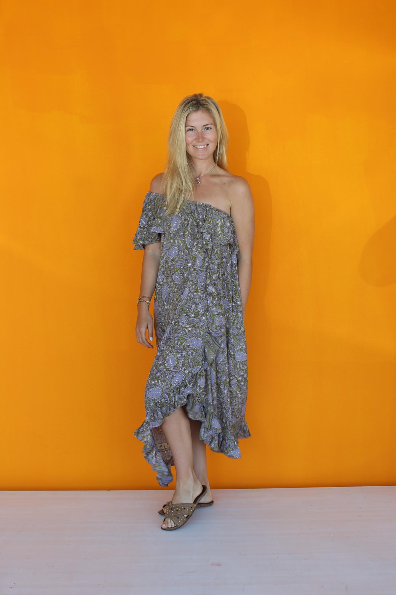 SISSEL EDELBO LUANNA OFF-SHOULDER DRESS FROM SISSEL EDELBO NO.2