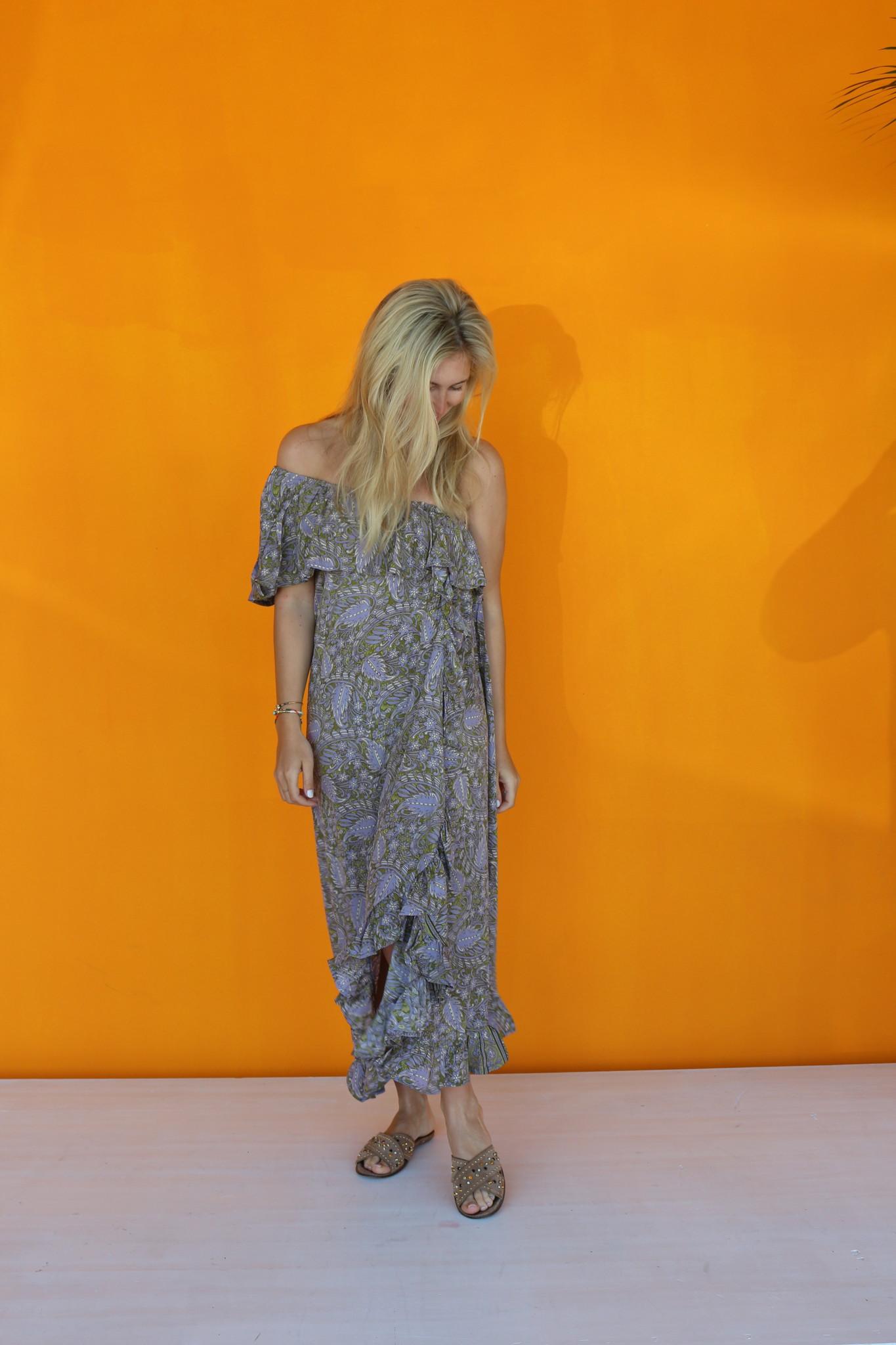 SISSEL EDELBO LUANNA OFF-SHOULDER DRESS VAN SISSEL EDELBO NO.1