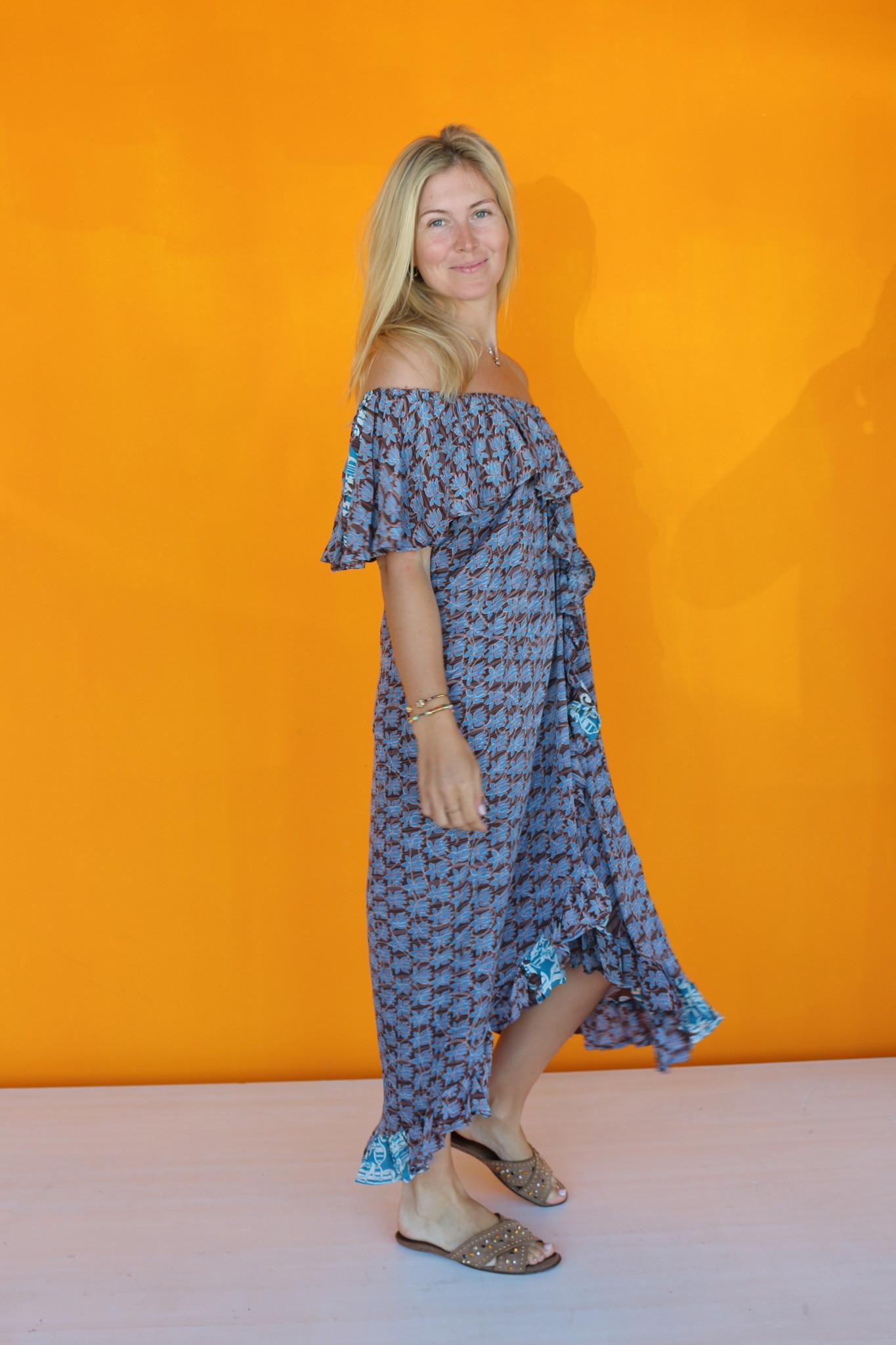 SISSEL EDELBO LUANNA OFF-SHOULDER DRESS VAN SISSEL EDELBO NO.2