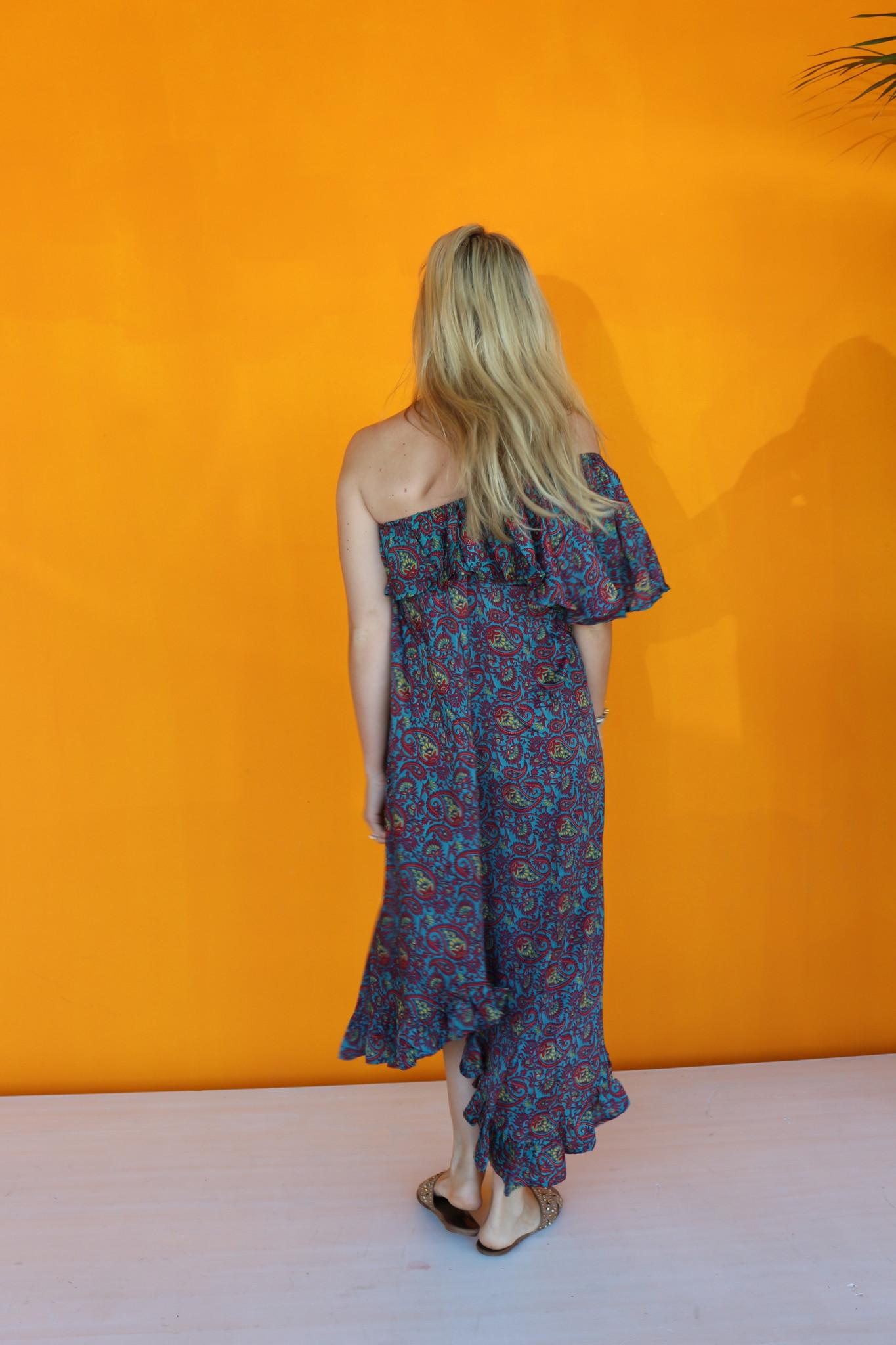 SISSEL EDELBO LUANNA OFF-SHOULDER DRESS FROM SISSEL EDELBO NO.3
