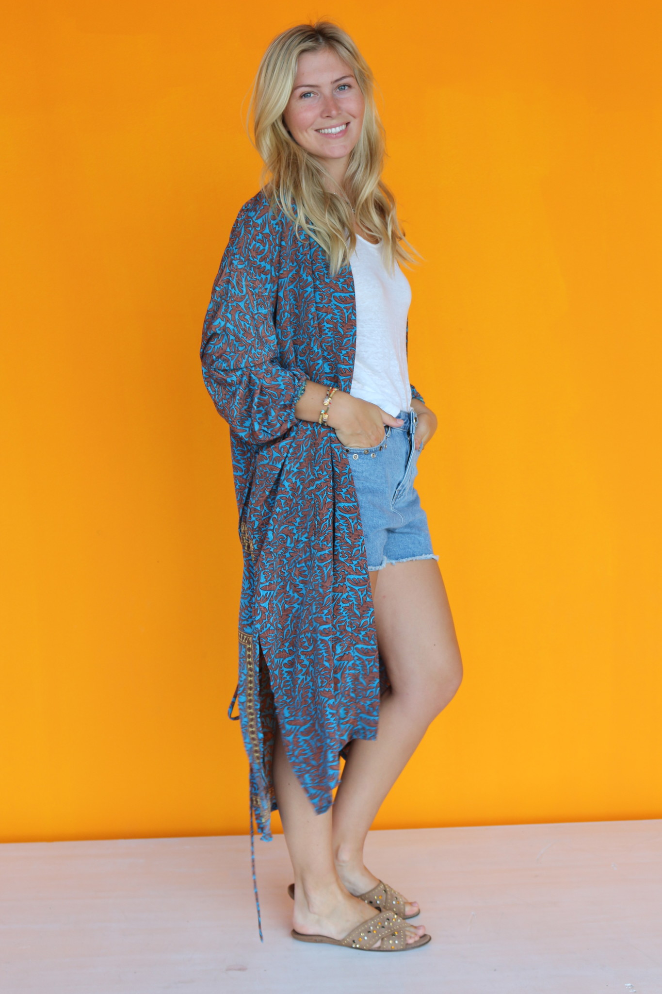 SISSEL EDELBO MORNING GLORY KIMONO FROM SISSEL EDELBO NO.5