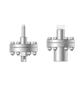 Threaded seals, large diaphragm and separable mounting part