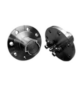 Flanged seals with extended and direct diaphragm