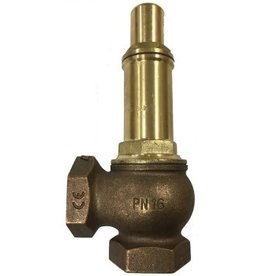 Bronze safety valve, angle type