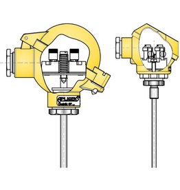 Temperature sensor type CT X