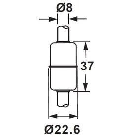 2337C SUS 316L Float for 8mm Tube