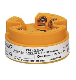 Head-mounted temperature transmitter type GI-22-2, GIX-22-2