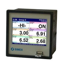 Multichannel controller with data logging capabilities type
