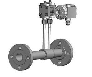 Flange type of nozzle flowmeter ZPK