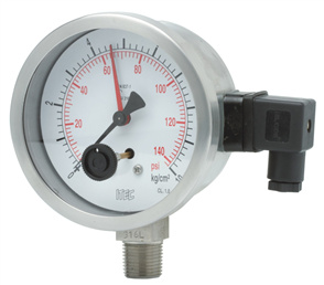 Pressure Gauge P504 microswitch PG, indicating switch