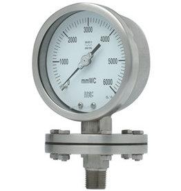 Pressure Gauge P602 all SS, diaphragm type