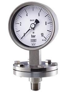 Pressure Gauge P604 all SS, diaphragm type, low pressure