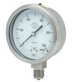 Pressure Gauge P601 all SS, capsule type