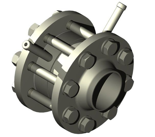 Differential pressure flowmeter