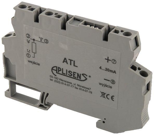 Rail-mounted temperature transmitter type ATL