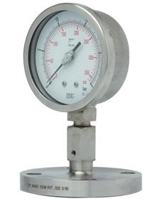 Pressure Gauge P704 integral diaphragm seal gauge, flanged