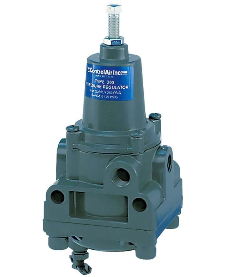 Instrument Air Filter Regulator, Large Flow Capacity, SS