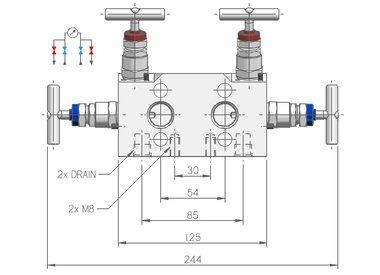 4-way manifolds