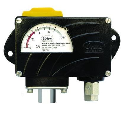 High Range Differential Pressure Switch, series MT