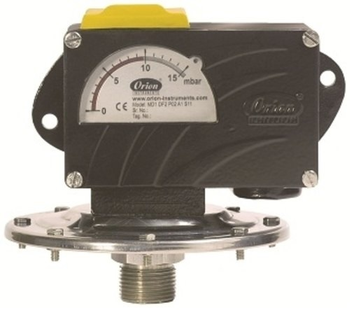 MD Low Range Pressure Differential Switch
