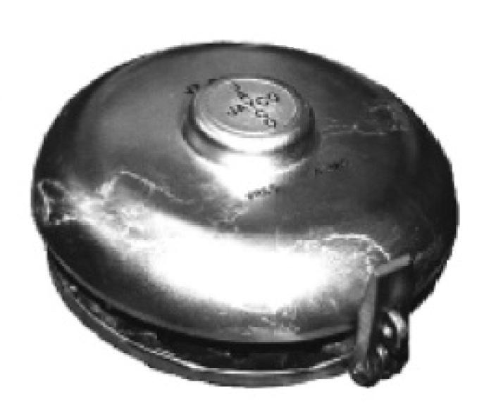 Aluminium Thief Hatch - 8 inch - Buna-N gasket