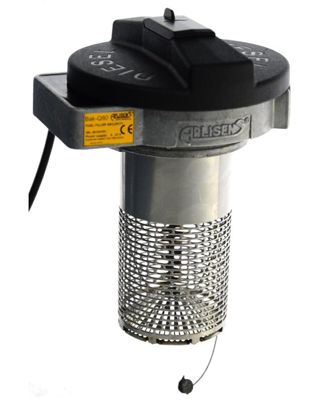 Fuel filler security BAK Q80