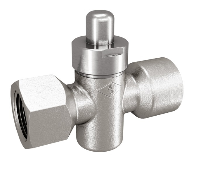 Pressure Gauge Cock with Push Button 28 Series
