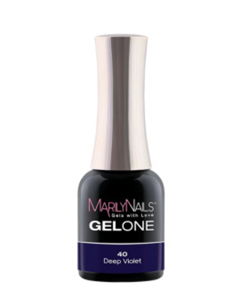 MarilyNails MN GelOne - Deep Violet #40