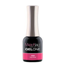 MarilyNails MN GelOne - Hot Pink #28N (Neon)