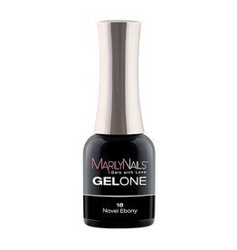 MarilyNails MN GelOne - Novel Ebony #18