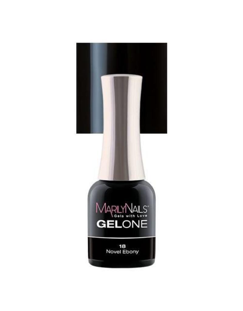 MarilyNails MN GelOne - Novel Ebony #18