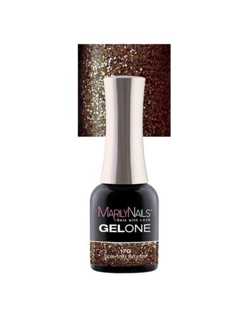 MarilyNails MN GelOne - Splendid Bronze #17G
