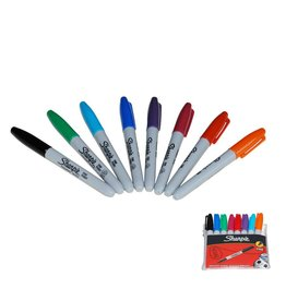 Nail art Sharpie  pennen (10 kleuren)