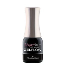 MarilyNails MN GelFlow - Absolute Black #20