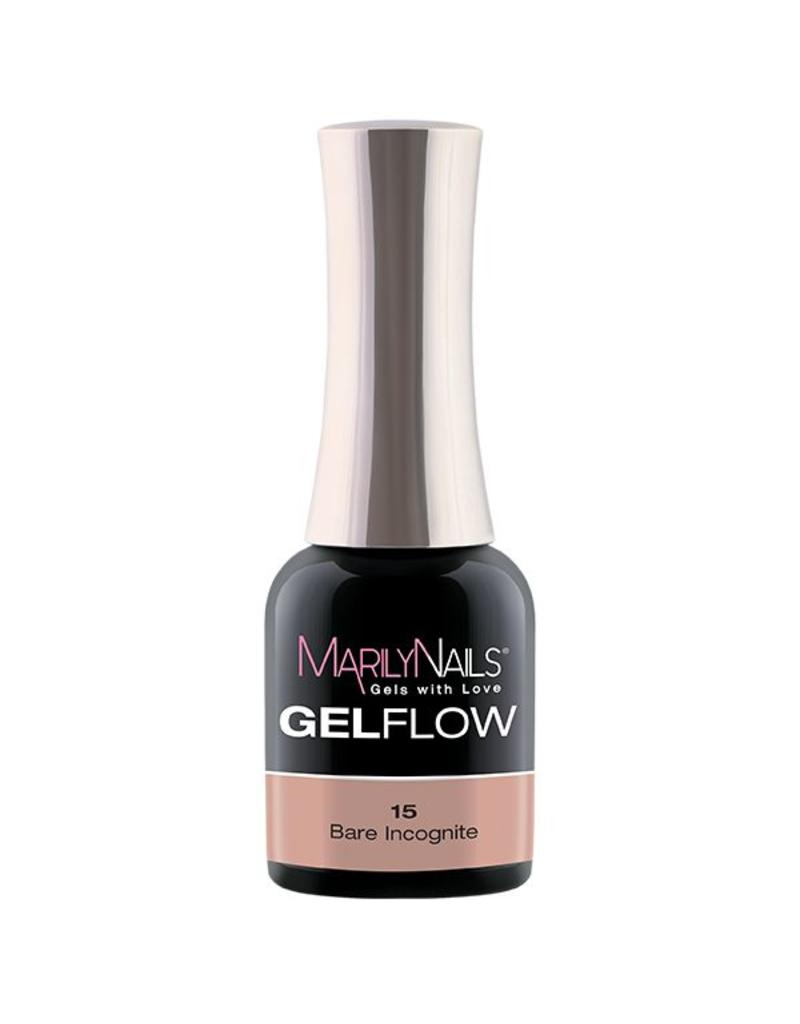 MarilyNails MN GelFlow - Bare Incognito #15