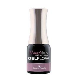 MarilyNails MN GelFlow - Decent Purple #22