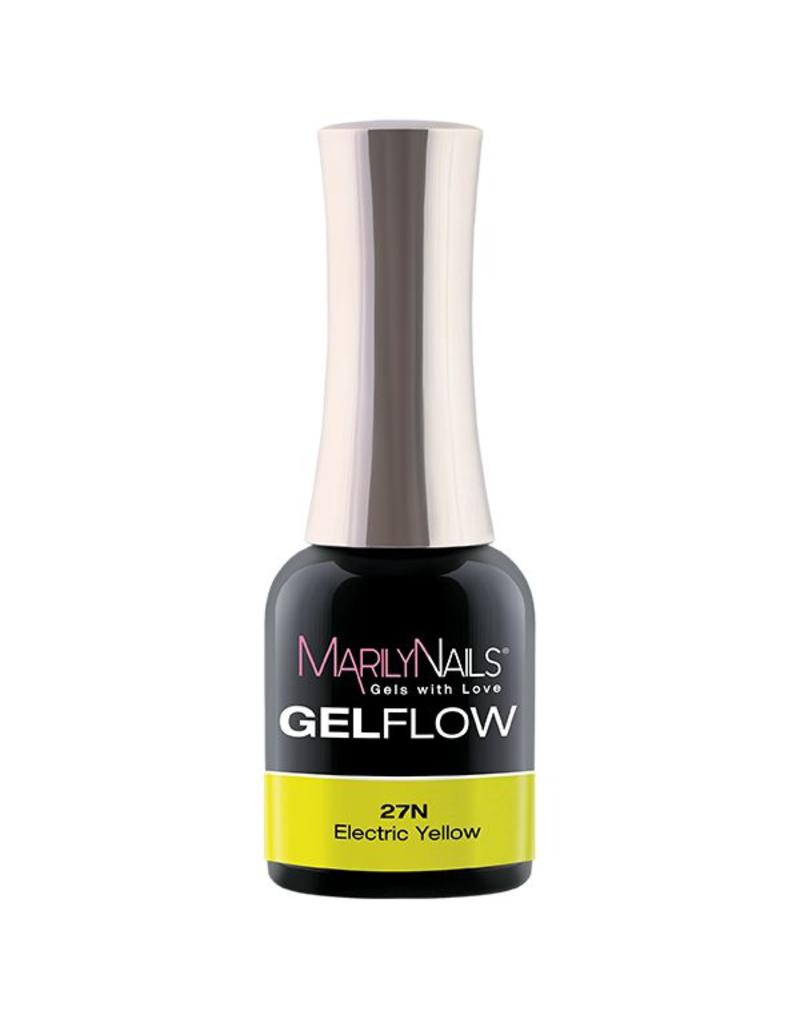 MarilyNails MN GelFlow - Electric Yellow #27N