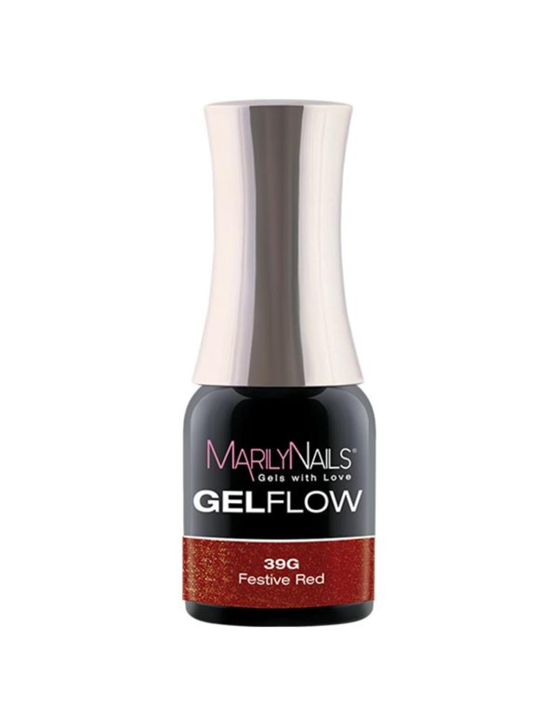 MarilyNails MN GelFlow - Festive Red #39G