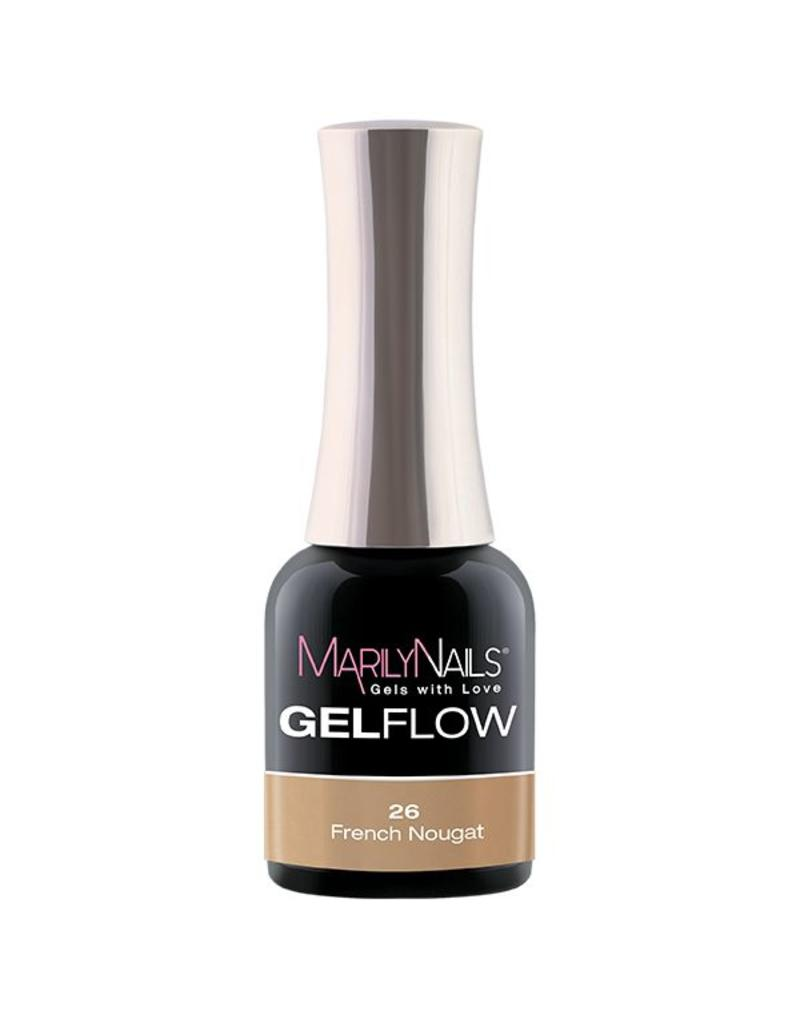 MarilyNails MN GelFlow - French Nougat #26