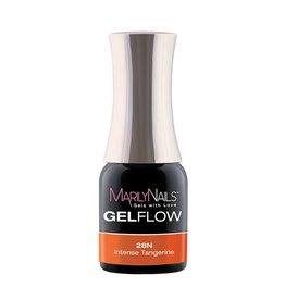 MarilyNails MN GelFlow - Intense Tangerine #28N